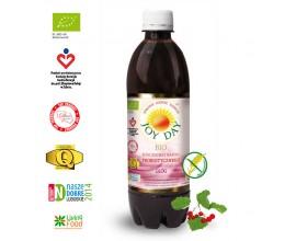 Probiotyk Joy Day BIO Głóg, koncentrat, 100% naturalny - 500 ml